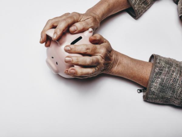 financial hands
