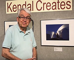 This year 40 residents have original artwork in the show, which is on display in Kendal's three galleries through August 20.