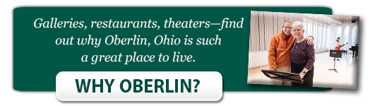 Why Oberlin? button